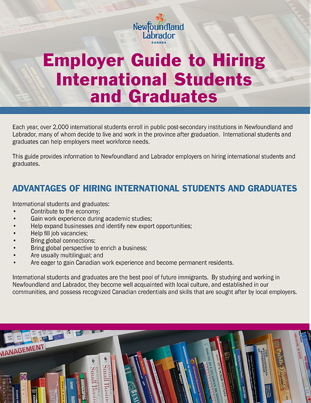 Employer Guide to Hiring International Students and Graduates