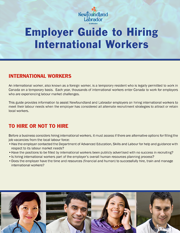Employer Guide to Hiring International Workers