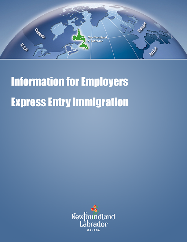 Information for Employers Express Entry Immigration